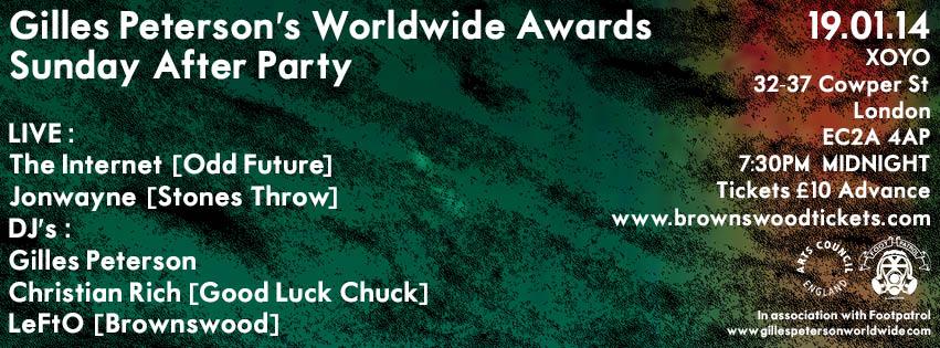 worldwide awards x footpatrol