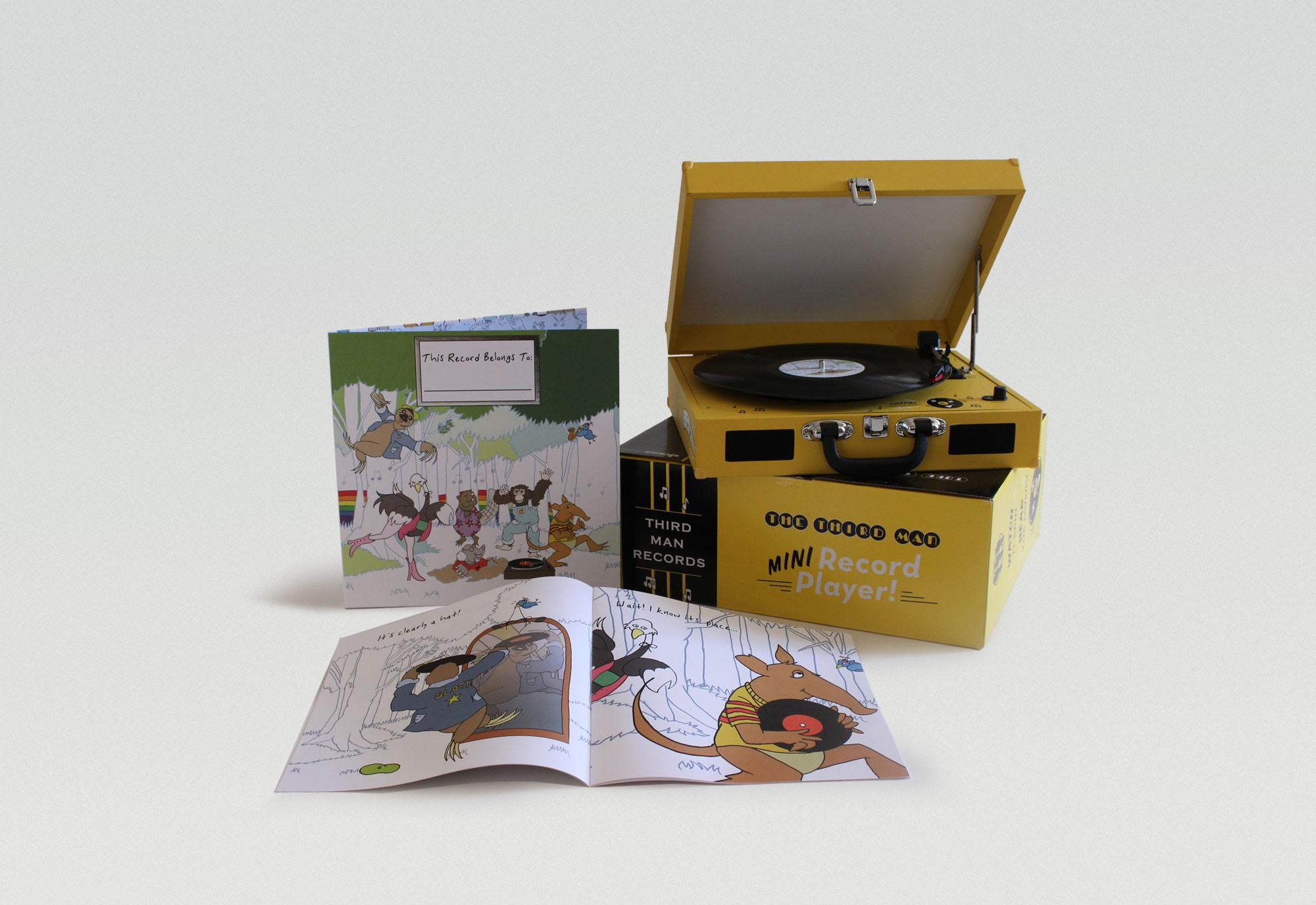 third man records childrens vinyl record player this record belongs to