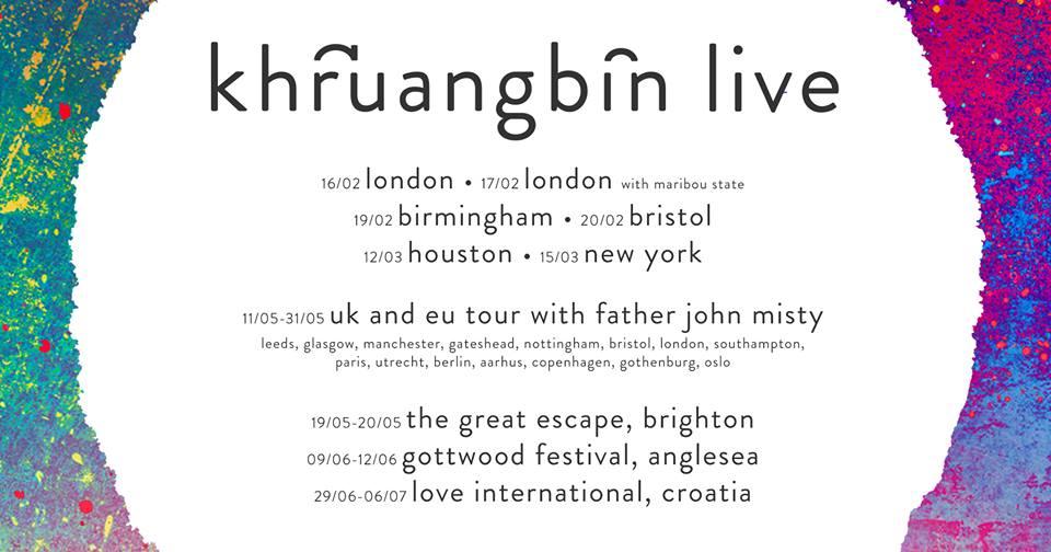 Khruangbin tour