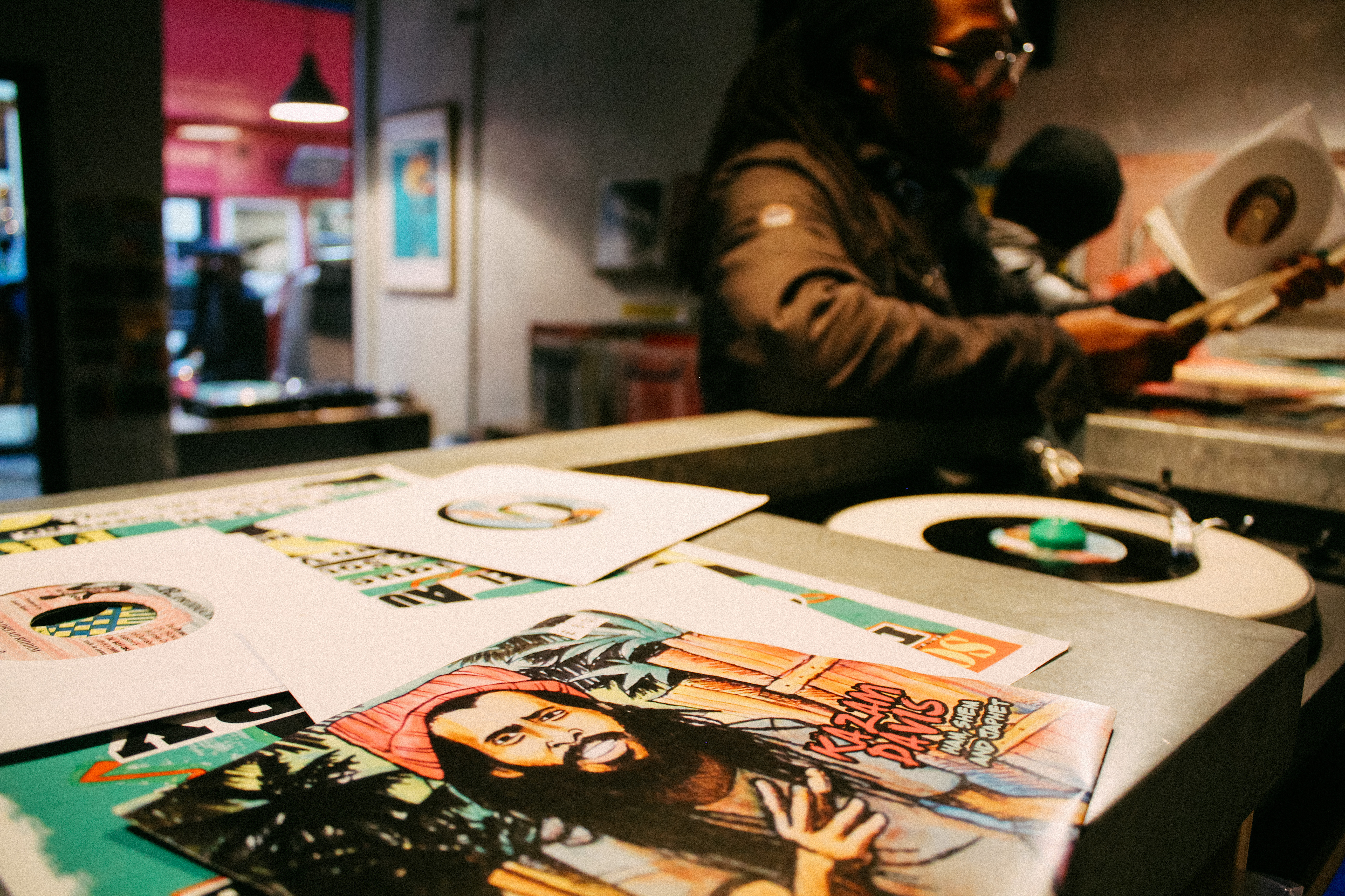 Take a look inside Lion Vibes, Brixton's newest reggae record shop -