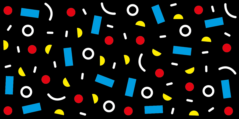 NBD Pattern Black x2
