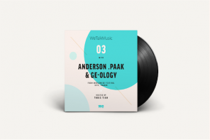 Anderson .Paak & Ge-ology open up on the latest WeTalkMusic podcast, hosted by Thris Tian