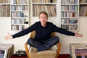 Gilles Peterson just gave away 100s of records to charity shops in North London