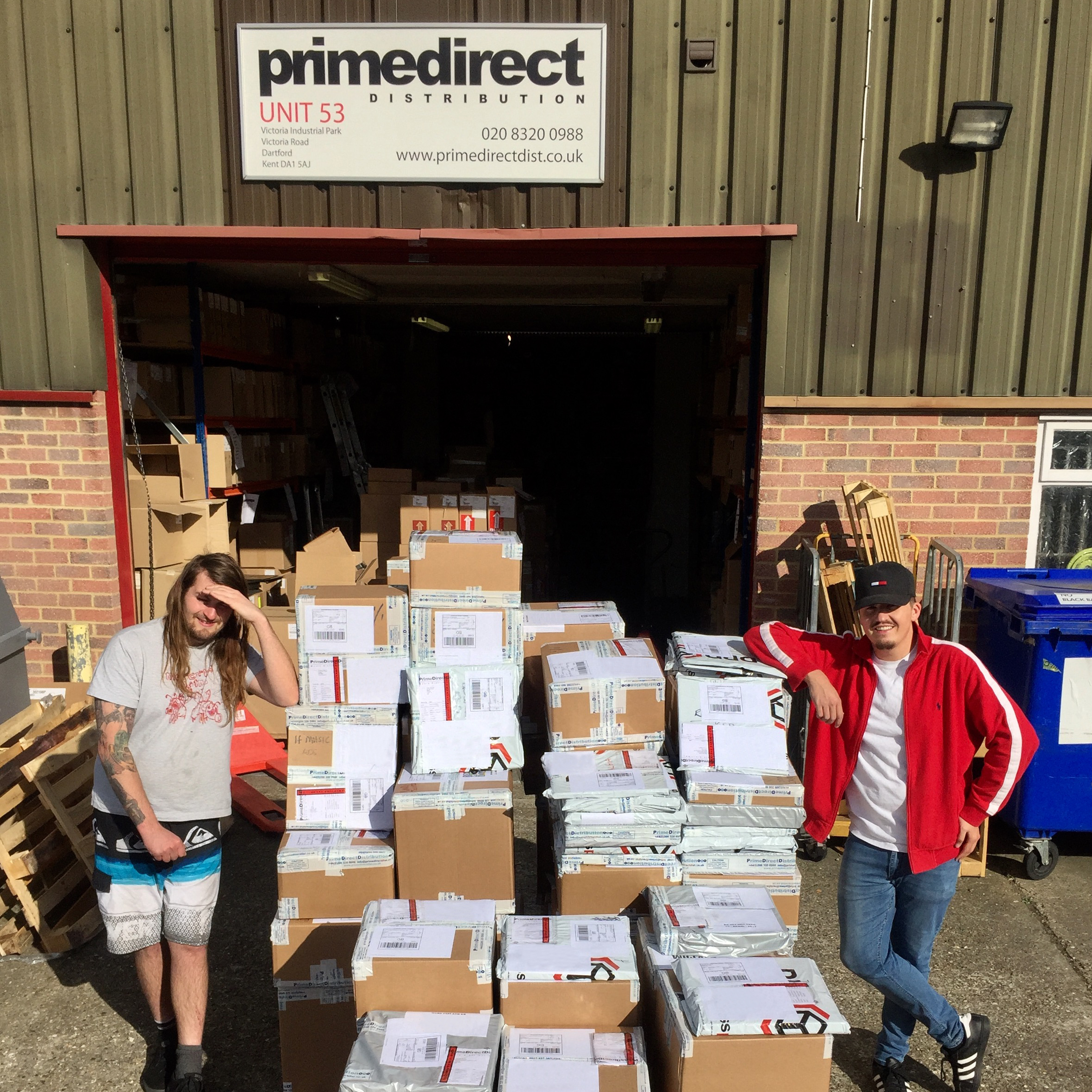 Prime warehouse shipping day
